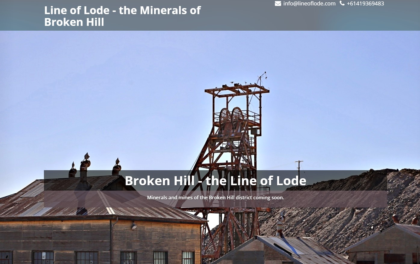 Minerals and Mines of Broken Hill