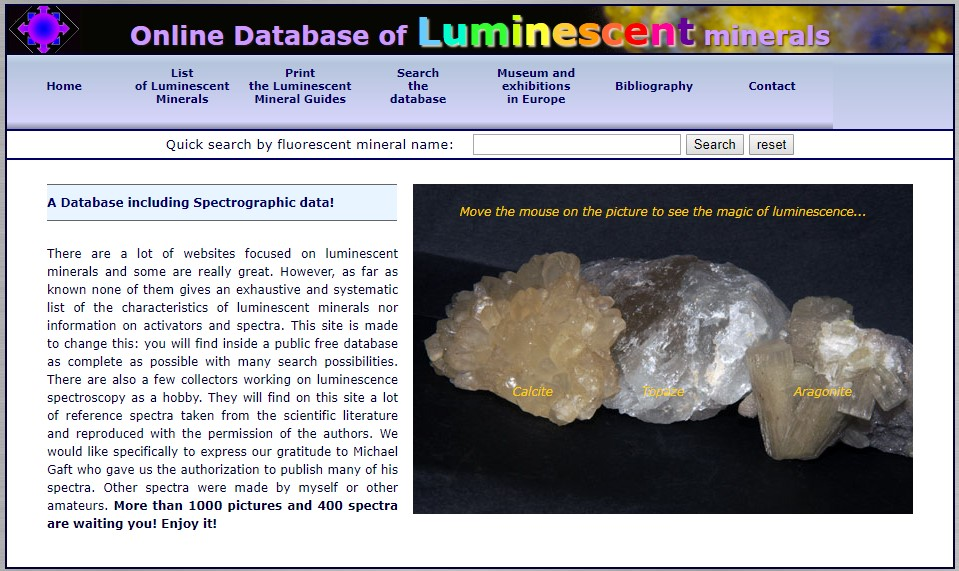 luminescent database