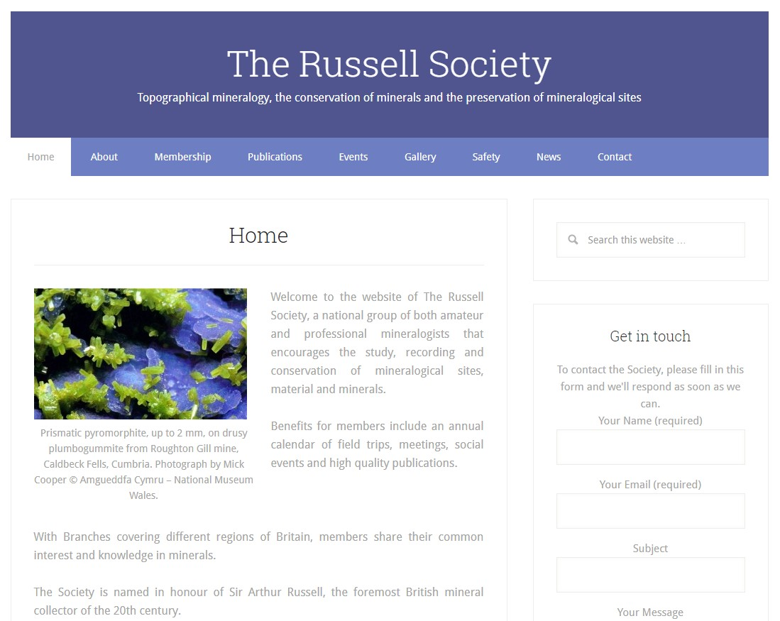 russell society